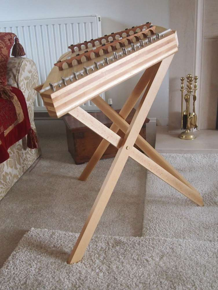 Small seated Hammered Dulcimer stand