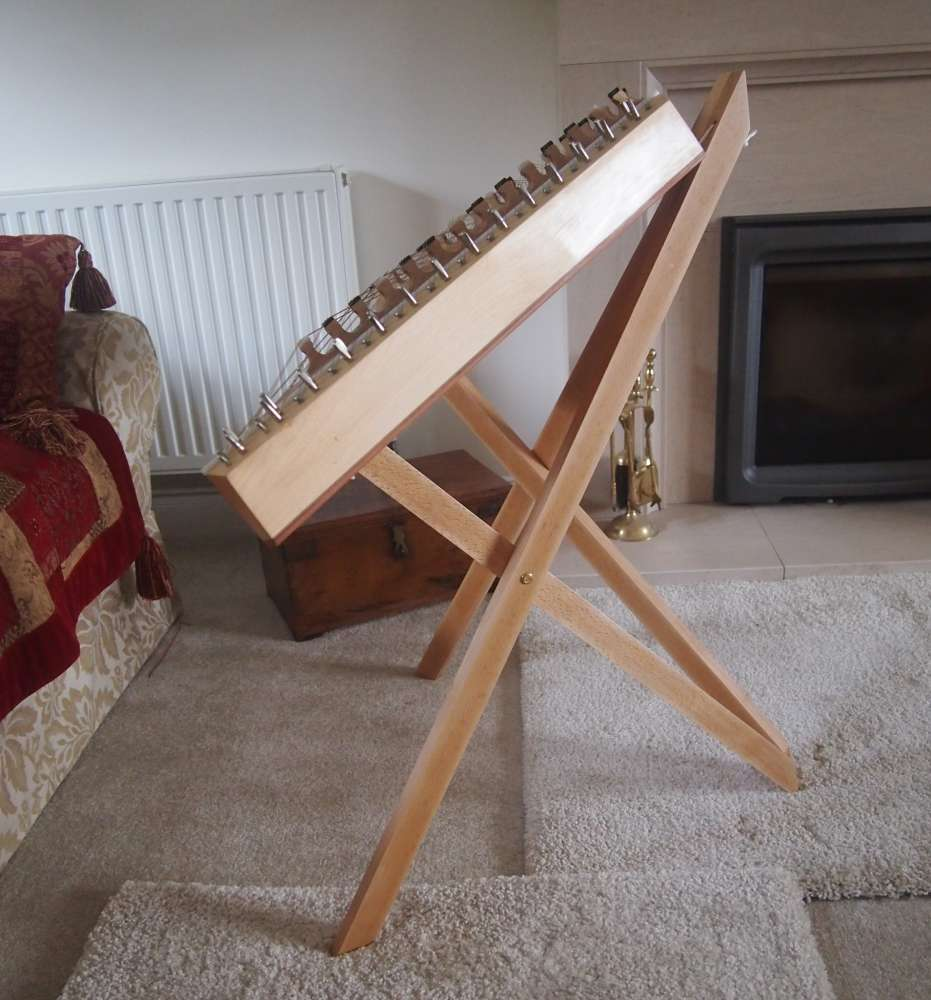Seated Hammered Dulcimer stand